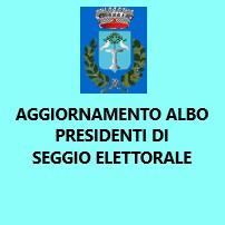 Aggiornamento albo dei Presidenti di seggio elettorale